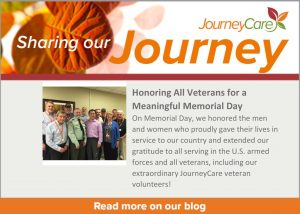 JourneyCare Veteran Volunteers