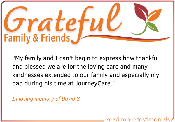 patient and family testimonial